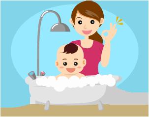 precious-bath-time